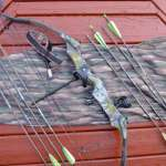 Compound Bow, Arrows, Release