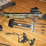 Barnett Predator Crossbow W/accessories