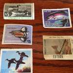 Waterfowl and Trout Stamps Not Signed