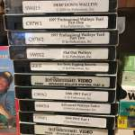 In Fisherman Walleye tapes VHS