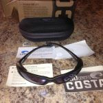 2 pair of Costa Del Mar polarized sunglasses