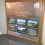 Glenlivet Famous watering holes golf mirror