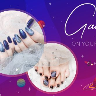 GALAXY on your Nails