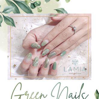 Nail hoa lá - Cho cuộc đời thêm xanh