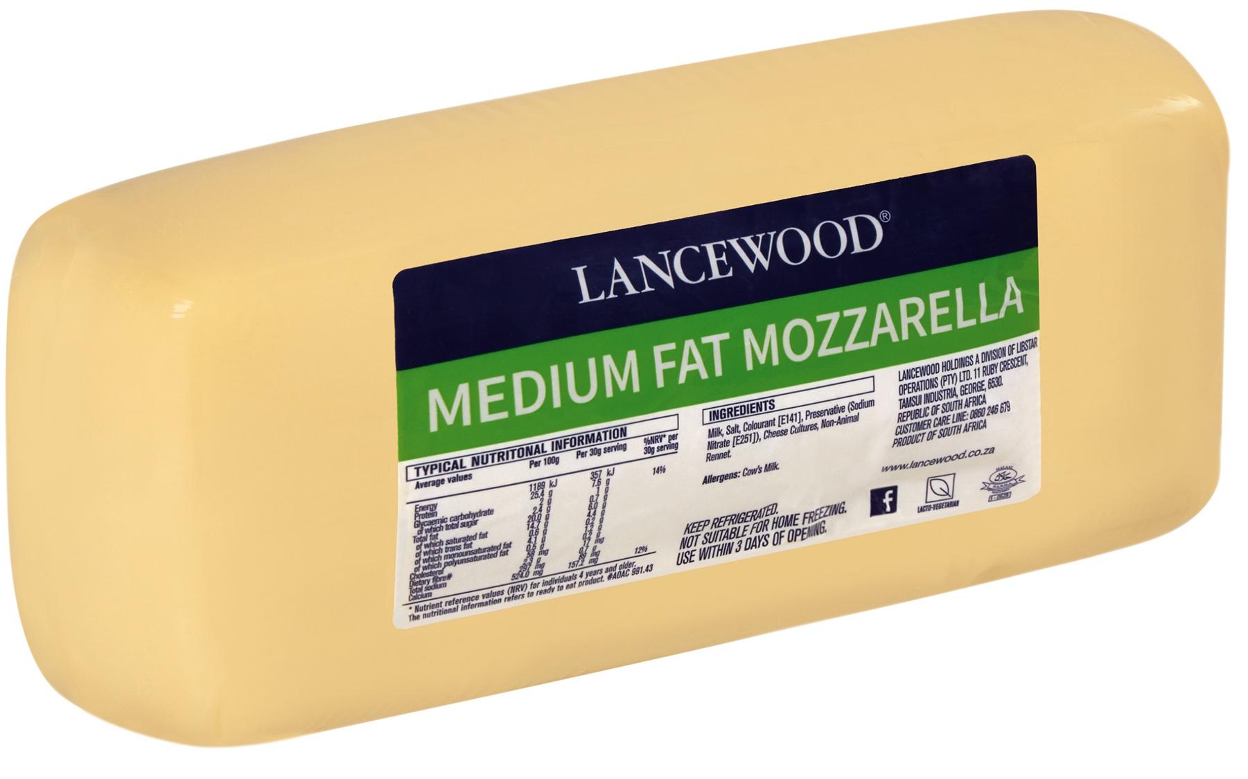 Mozzarella Bulk