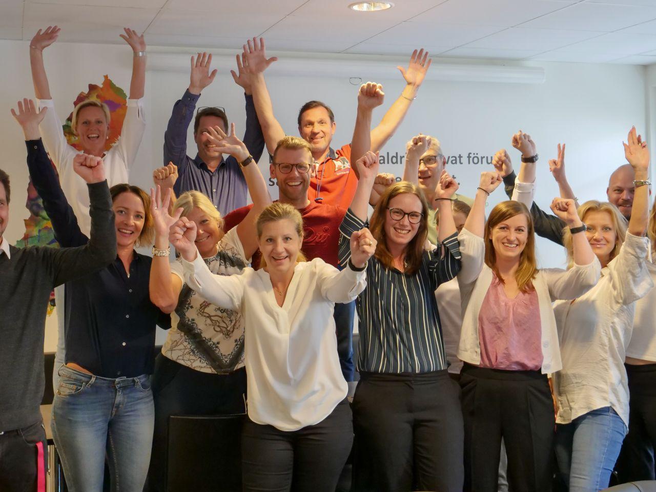 Lärandegruppen i Sverige kammar hem Guldtrappan 2019