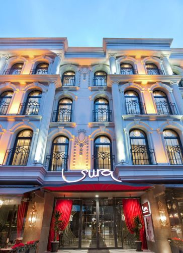 Sura design hotel and suites hotel istanbul from 164 for Designhotel istanbul