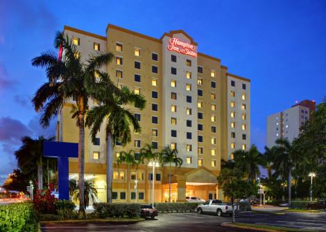 Hotel Hampton Inn & Suites Miami-airport South-blue Lagoon