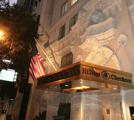 Hotel Hilton Checkers Los Angeles
