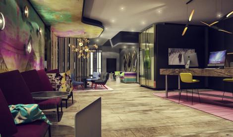 Hotel quentin design hotel berlin berlino da 48 for Berlino hotel design