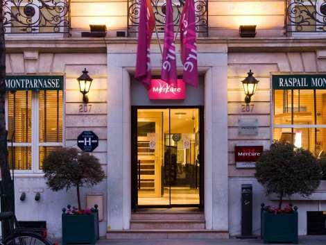Hotel Mercure Paris Montparnasse Raspail