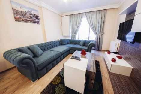 Rose garden residence apartaments istanbul from 40 for Guest house harbiye
