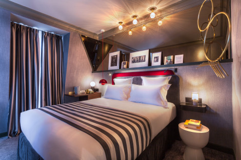 suites h tel helzear montparnasse apartaments paris from 292. Black Bedroom Furniture Sets. Home Design Ideas
