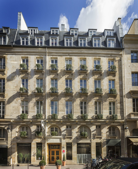 Les fontaines du luxembourg hotel paris from 104 for 104 rue du jardin paris