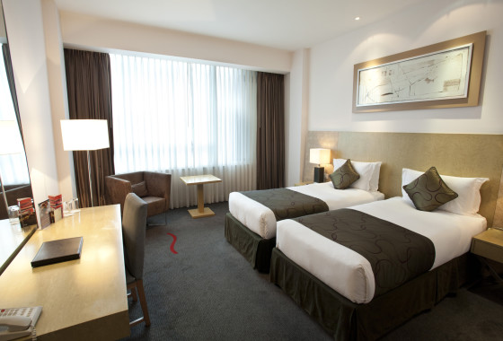 Hotels In Cardiff City Centre Twin Room
