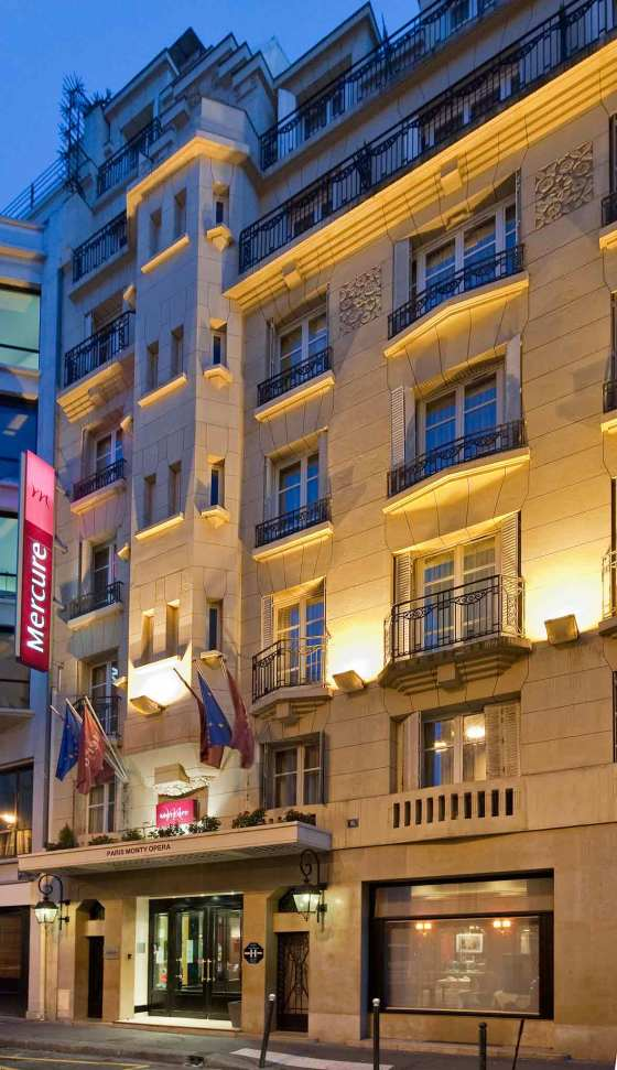 Hotel Mercure Paris Opera Faubourg Montmartre