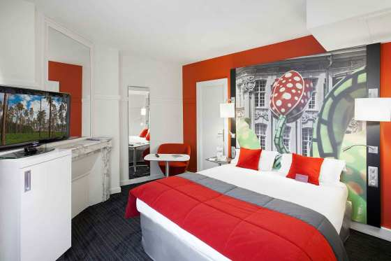 Lille hotels from 34 cheap hotels for Hotel design lille