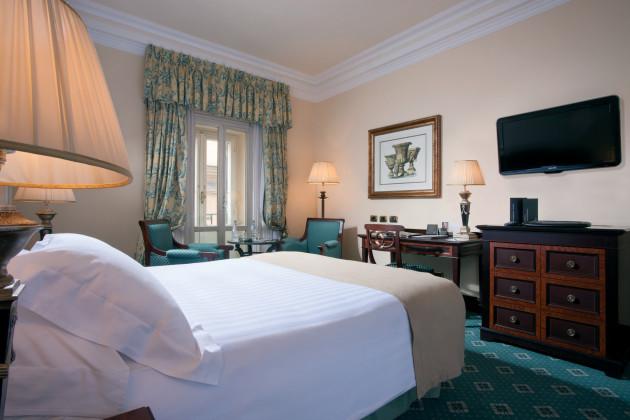 Hotel intercontinental de la ville rome roma rumbo for Rome hotel piscine