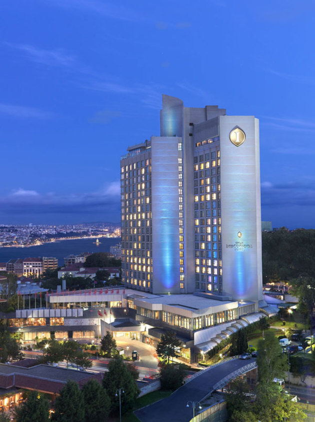Intercontinental hotels istanbul hotel istanbul from 85 for Divan istanbul