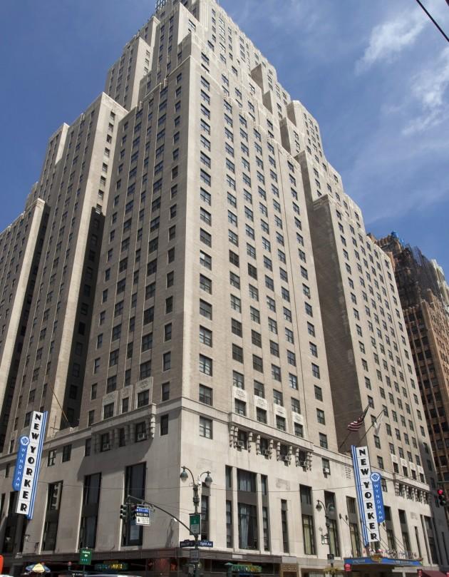 Wyndham New Yorker Hotel New York From 78