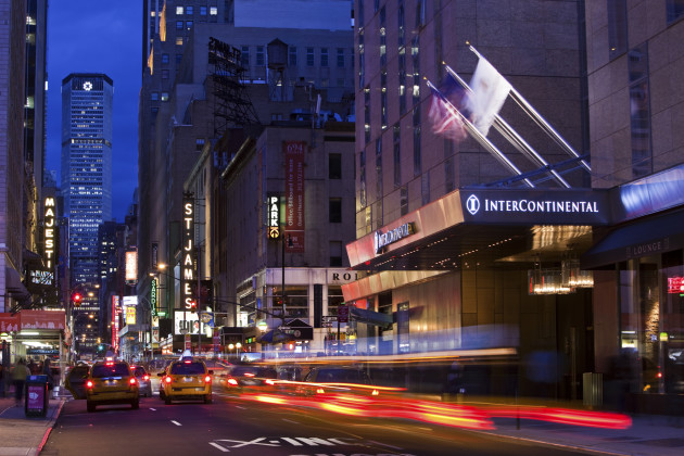 Intercontinental New York Times Square Hotel 1