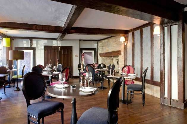 Mercure Hotel Stratford Upon Avon Menu