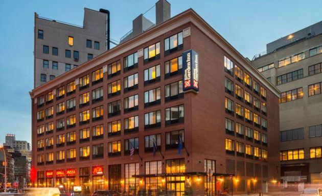 Hilton Garden Inn New York Tribeca Hotel New York From