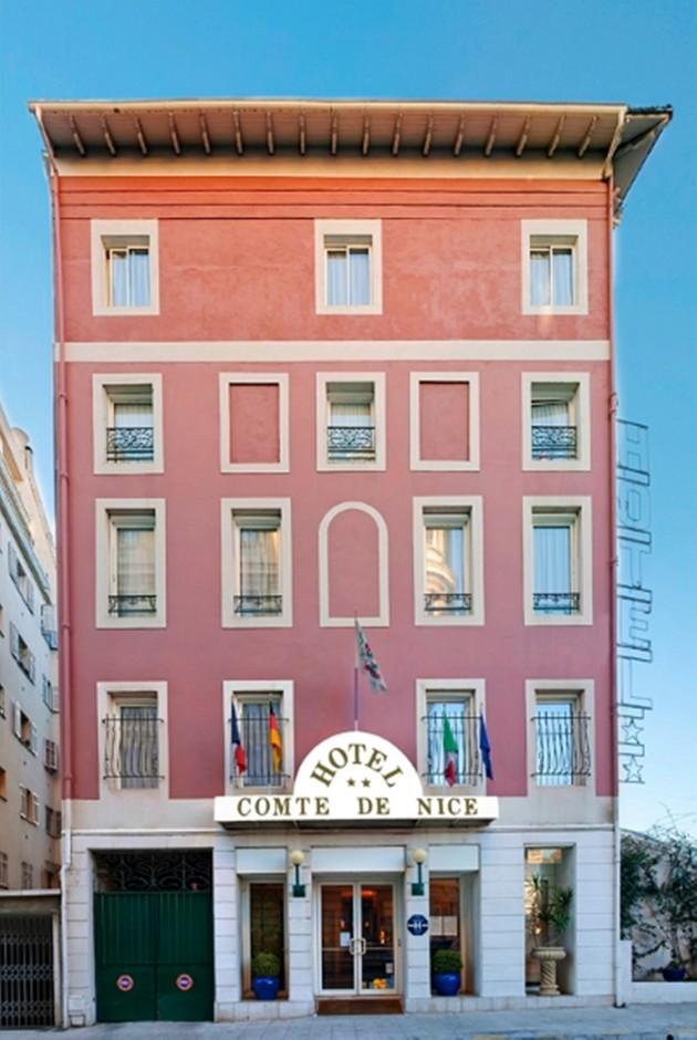 hotel comte de nice hotel nice from 54. Black Bedroom Furniture Sets. Home Design Ideas