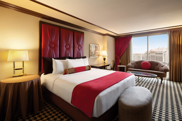 Paris Las Vegas Red Room King