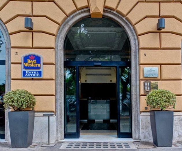 Hotel Best Western Hotel Astrid 1