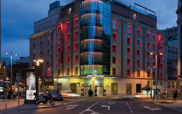 Hotel Santo Domingo Hotel Madrid From 60