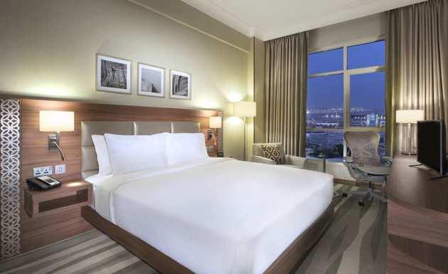 Hilton Garden Inn Dubai Al Muraqabat Hotel Dubai From 163