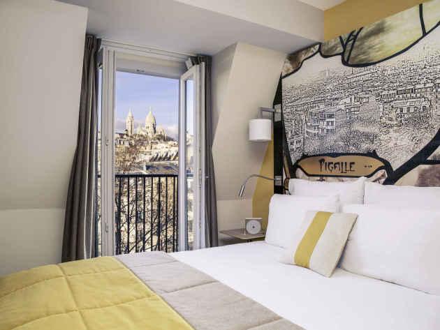 Hôtel Mercure Paris Pigalle Sacre Coeur 1