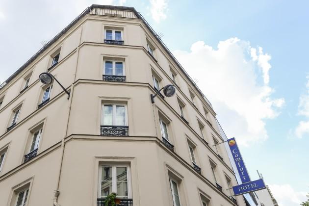 Hotel comfort hotel nation p re lachaise par s desde 75 for Hotel paris 75