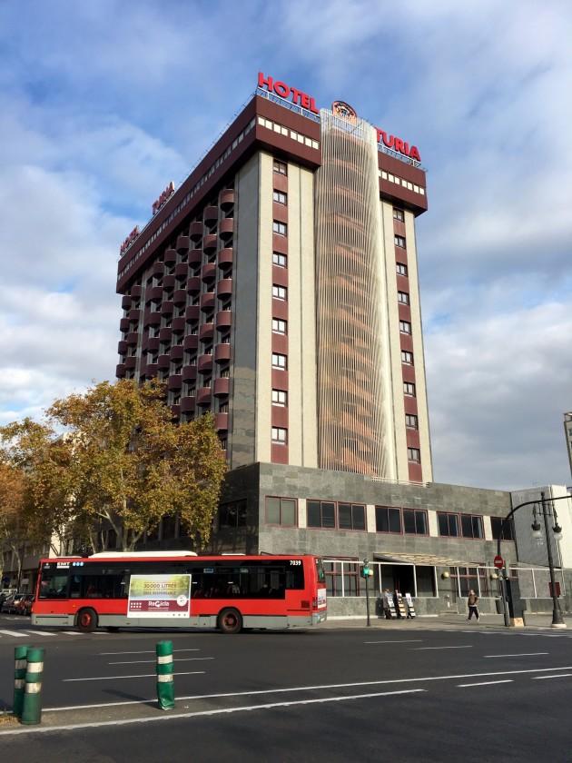 Hotel turia valencia desde 43 rumbo for Nh jardines del turia