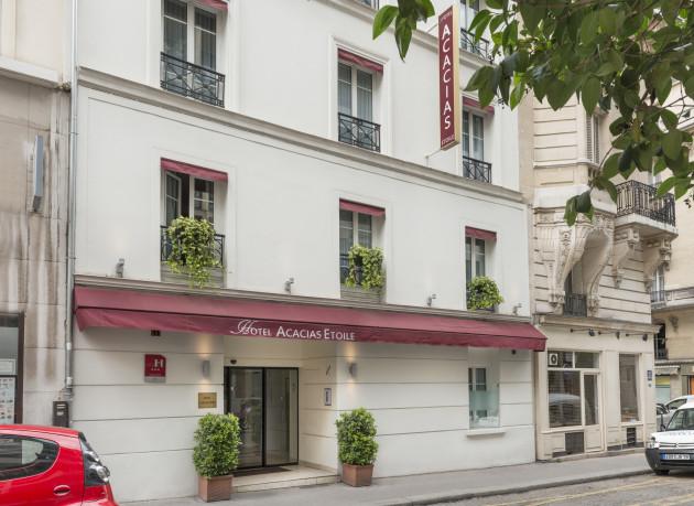 Acacias etoile hotel paris from 77 for Hotels 1 etoile paris