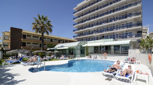 Hotel isabel torremolinos desde 76 rumbo for Hotel kristal torremolinos piscina