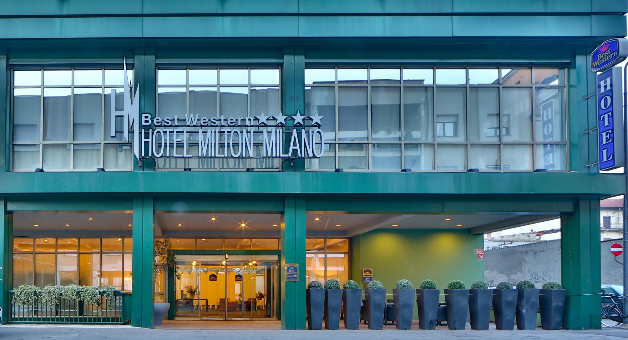 Hotel best western hotel milton milano a milano da 52 for Milton milano