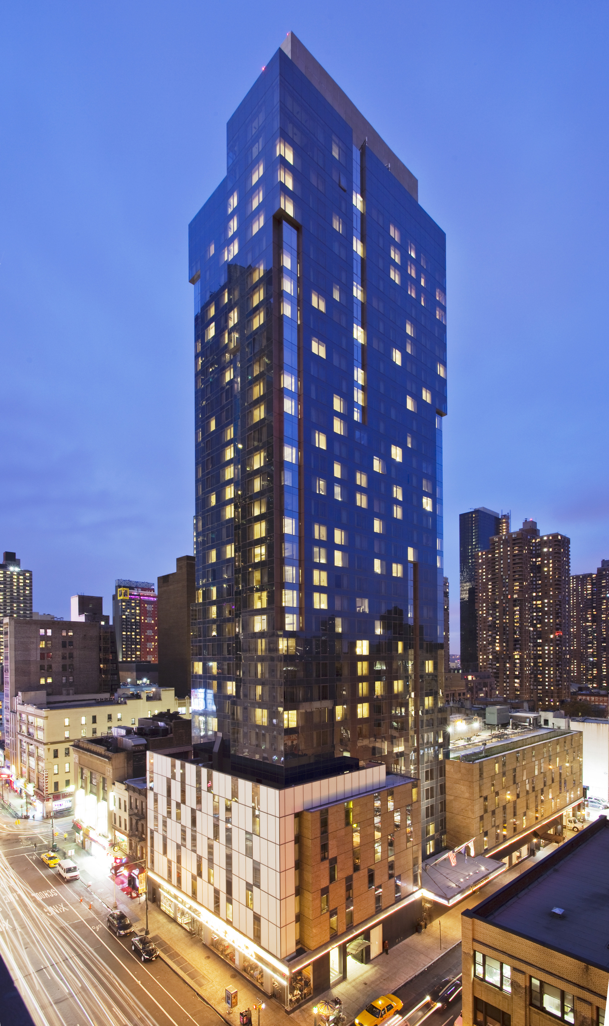 Hotel intercontinental new york times square em nova for Hotel centro new york