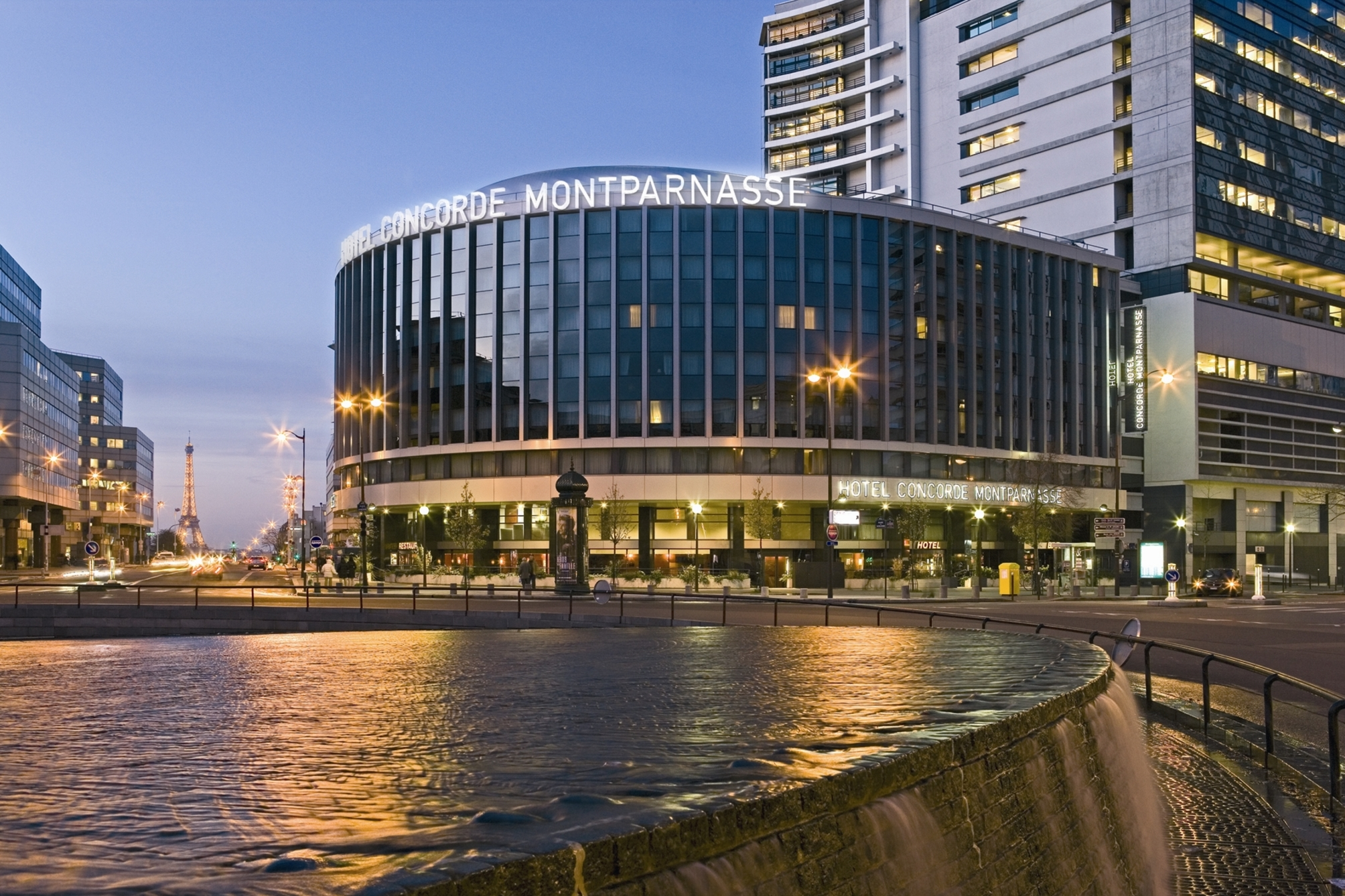 Hotel concorde montparnasse hotel em paris desde 107 rumbo for Hotel chaine paris