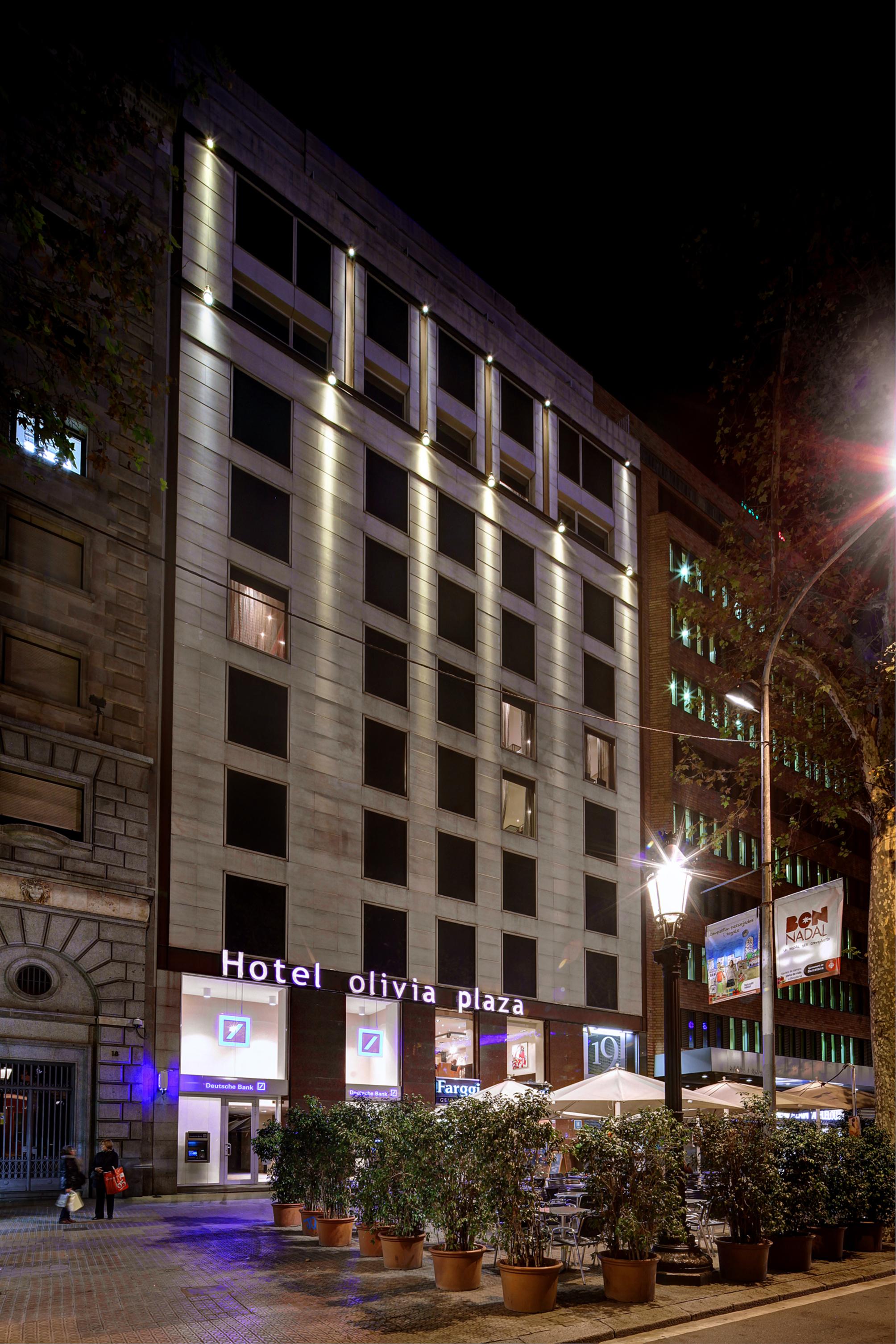 Hotel olivia plaza a barcellona da 147 volagratis for Migliori hotel barcellona