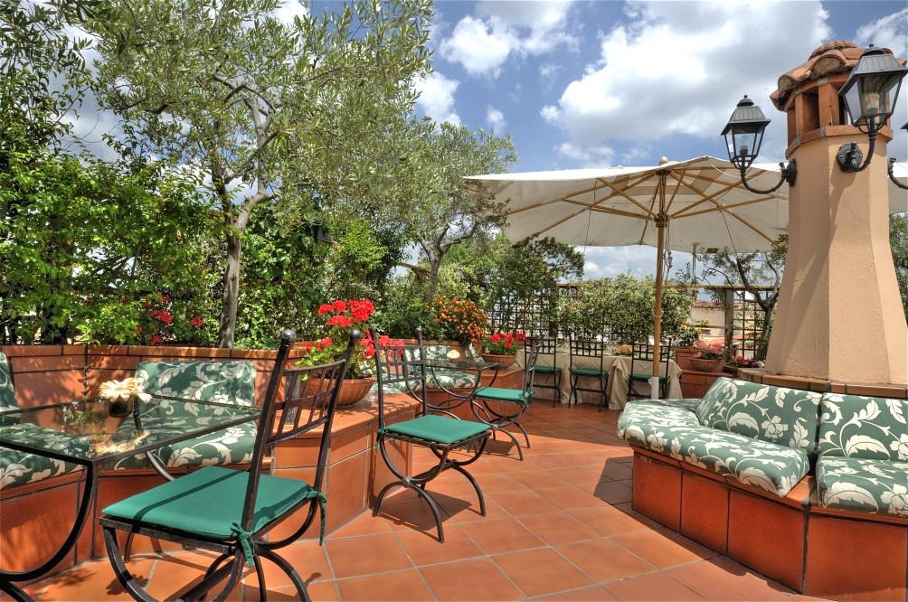 Hotel Diana Roof Garden Roma