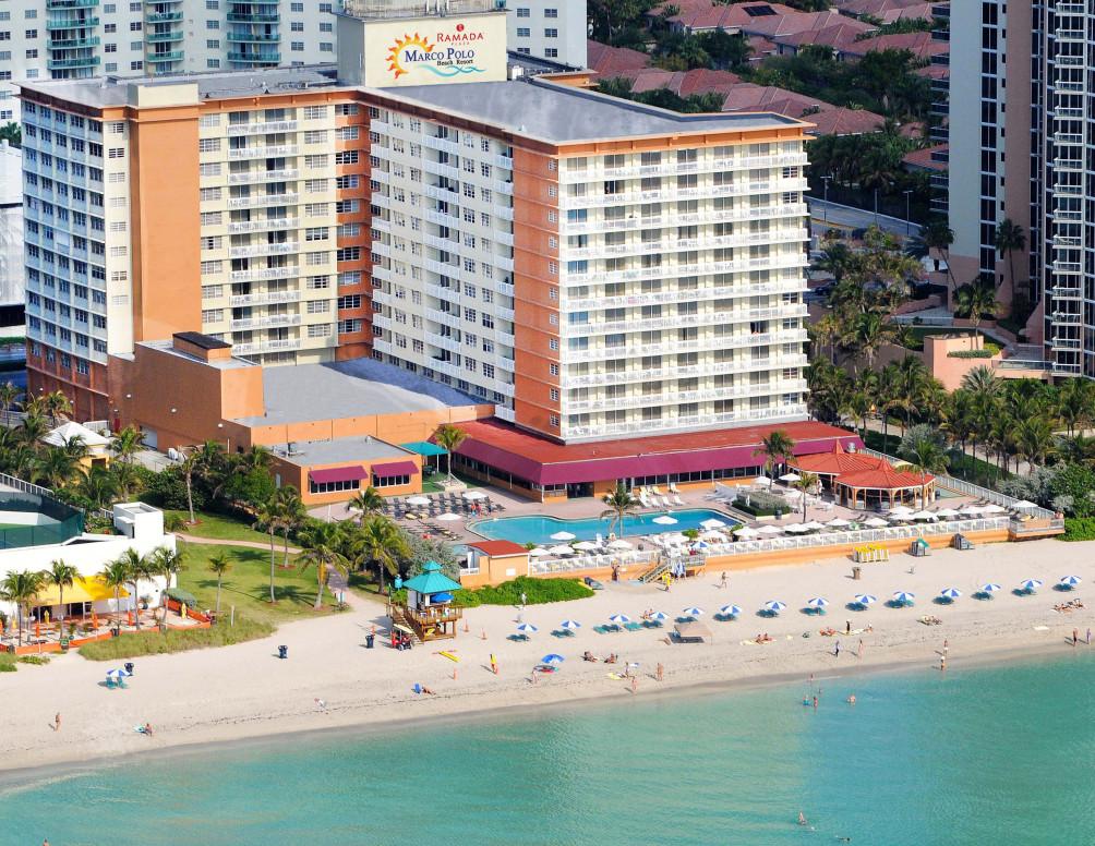 Hotel Ramada Plaza Marco Polo Beach Resort Sunny Isles