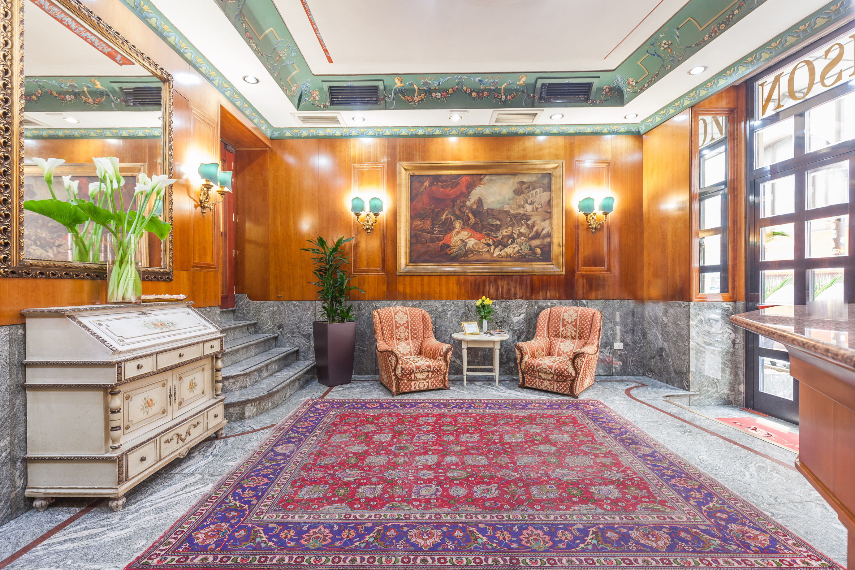 Hotel madison roma desde 112 rumbo for Hotel madison milano