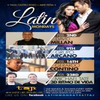 Latin Mondays at TAJ