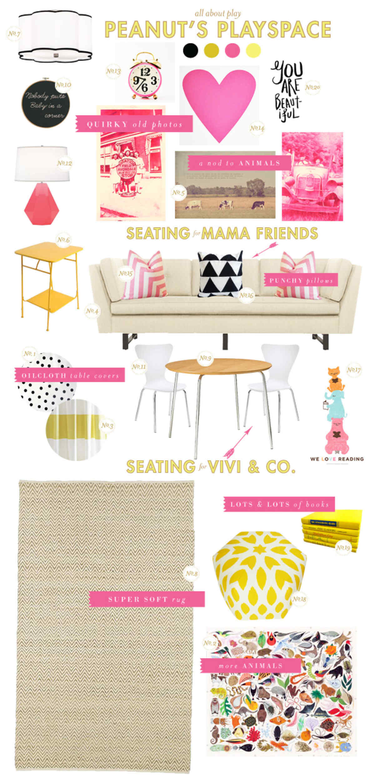 playroom style board