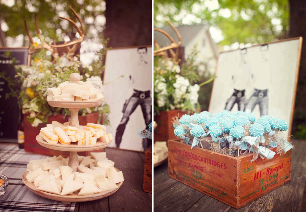 cowboy baby shower inspiration