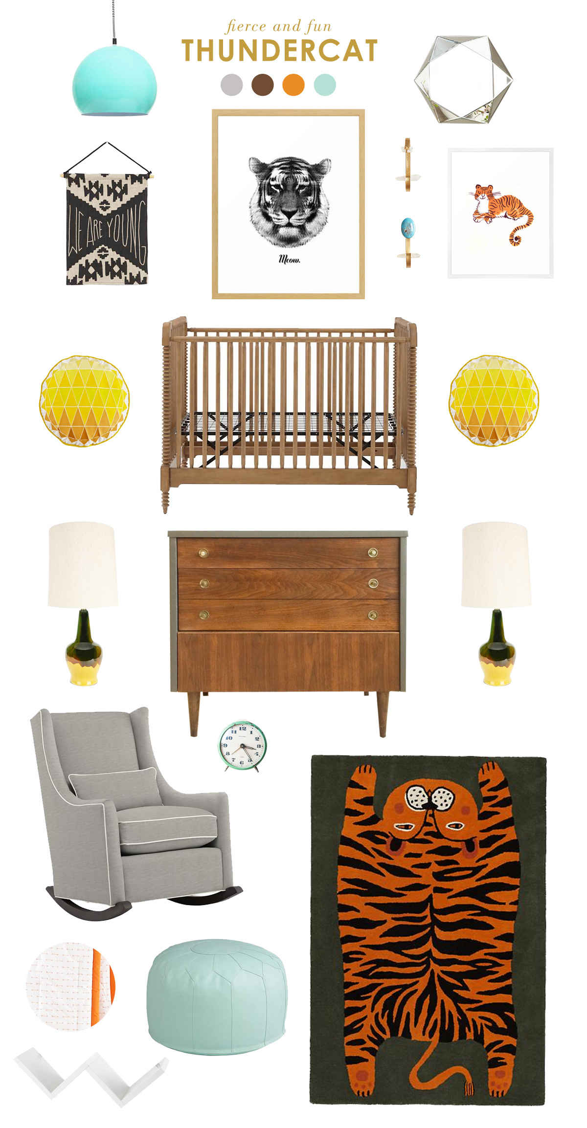 thundercat nursery inspiration