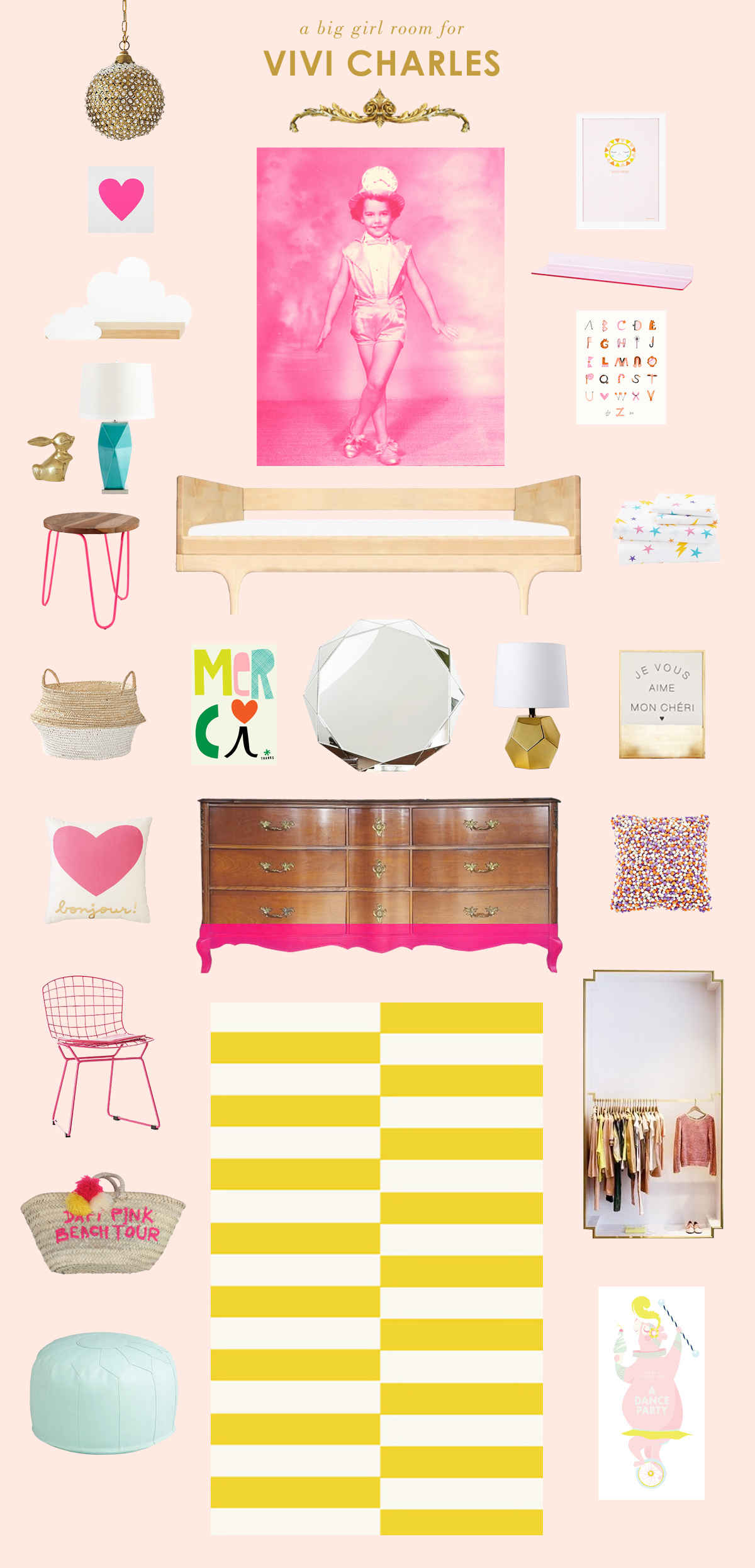 pink big girl room