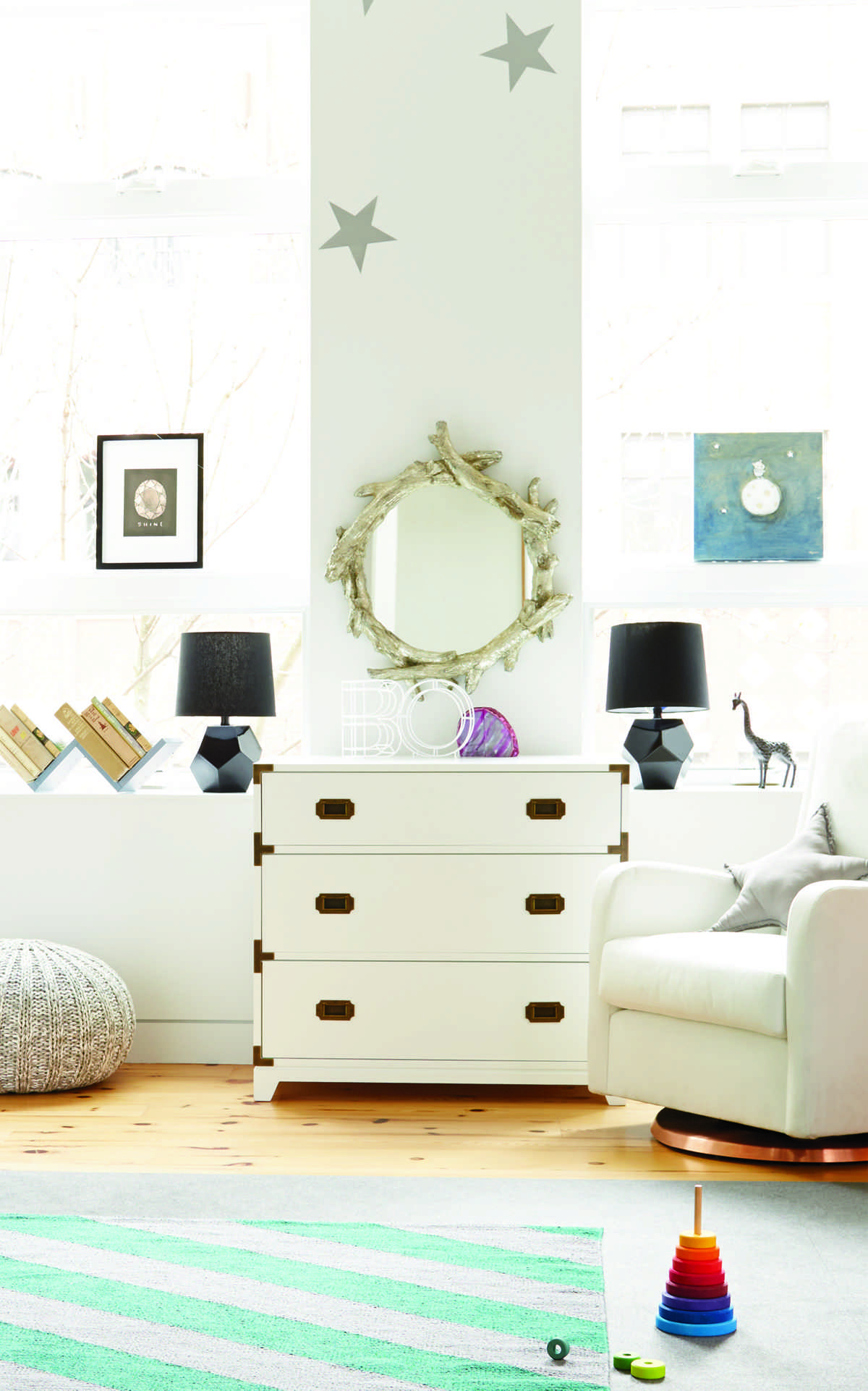 science baby room inspiration